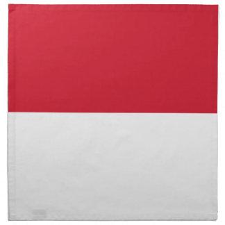 Indonesia Flag Napkin