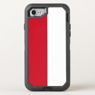 Indonesia Flag OtterBox Defender iPhone 8/7 Case