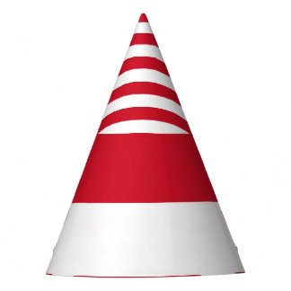 Indonesia Flag Party Hat