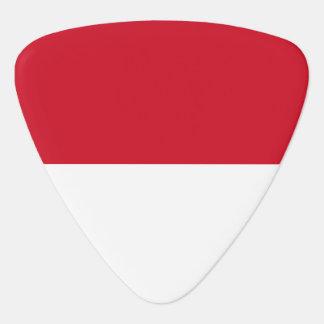 Indonesia Flag Plectrum