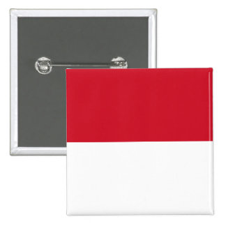Indonesia ID, Jakarta, Flag 15 Cm Square Badge