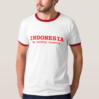 INDONESIA, My Lovely Country Tshirt