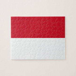 Indonesia National World Flag Jigsaw Puzzle