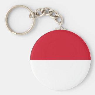 Indonesia National World Flag Key Ring