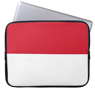 Indonesia National World Flag Laptop Sleeve