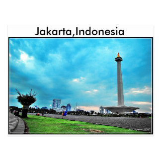 Indonesia Postcard