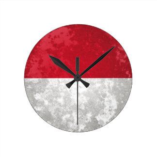 Indonesia Round Clock