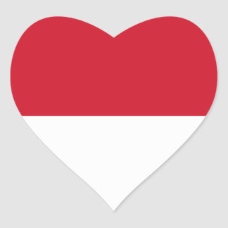 indonesia heart stickers