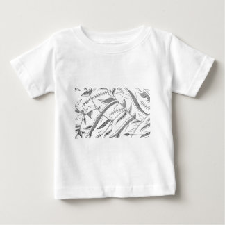 Indonesian Leafy Textile Baby T-Shirt