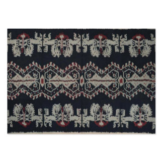 Indonesian Tribal Ikat Textiles Weavings Indonesia Pack Of Chubby Business Cards