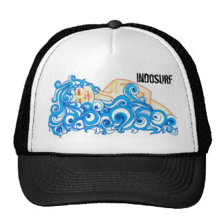 "INDOSURF ""Ocean Gal"" Trucker Hat"