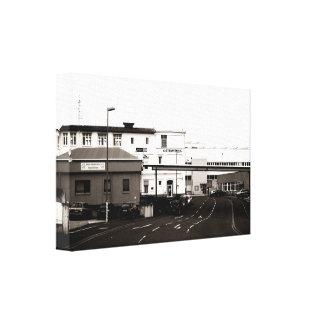 Industrial area canvas print