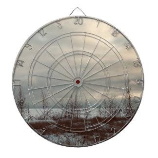 Industrial Art Dart Board