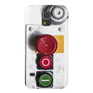 Industrial Buttons Design Galaxy S5 Covers
