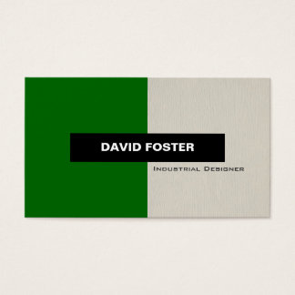 Industrial Designer - Simple Elegant Stylish Business Card