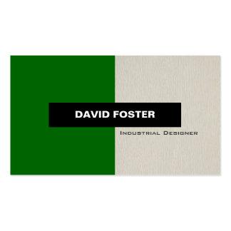 Industrial Designer - Simple Elegant Stylish Pack Of Standard Business Cards