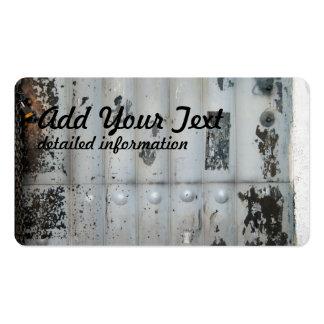 industrial door pack of standard business cards