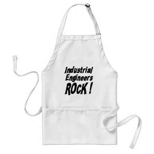 Industrial Engineers Rock! Apron