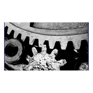 INDUSTRIAL GEARS - Business Card Template