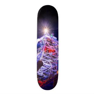 Industrial HDR photography - Steel Plant 1 Custom Skate Board