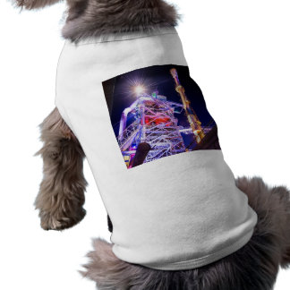 Industrial HDR photography - Steel Plant 1 Sleeveless Dog Shirt