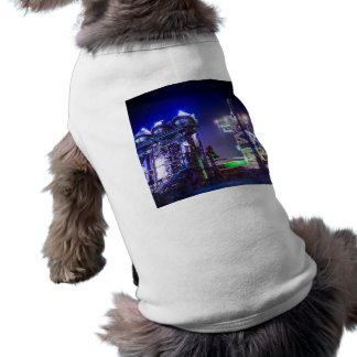 Industrial HDR photography - Steel Plant 2 Sleeveless Dog Shirt