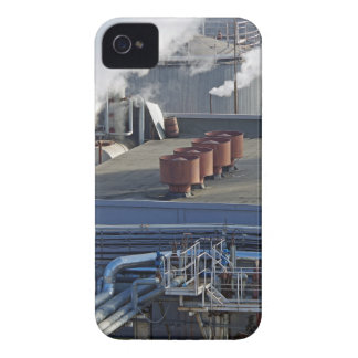 Industrial infrastructure, buildings and pipeline iPhone 4 Case-Mate case