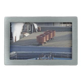 Industrial infrastructure, buildings and pipeline rectangular belt buckle