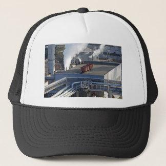 Industrial infrastructure, buildings and pipeline trucker hat