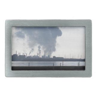 Industrial landscape along the coast belt buckles