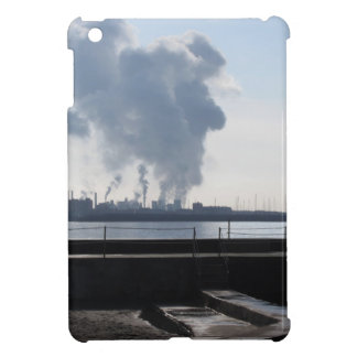 Industrial landscape along the coast iPad mini cover
