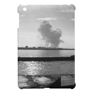 Industrial landscape along the coast iPad mini covers