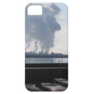 Industrial landscape along the coast iPhone 5 covers