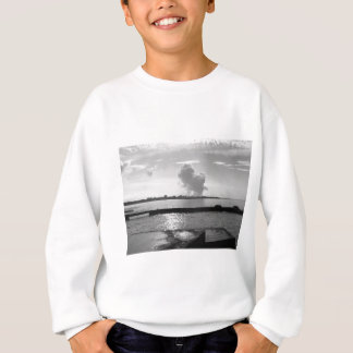 Industrial landscape along the coast sweatshirt