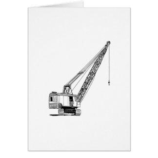 Industrial Lifting Crane Card