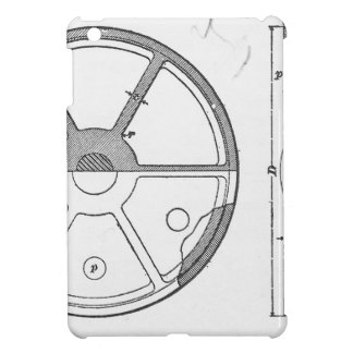 Industrial Mechanical Gears Ephemera Print iPad Mini Case