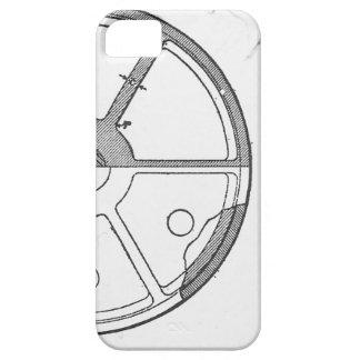 Industrial Mechanical Gears Ephemera Print iPhone 5 Case
