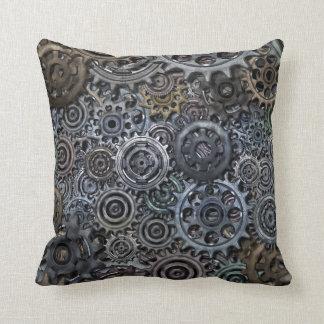 Industrial Metal Gear Design Cushion
