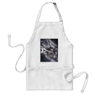 Industrial movement apron
