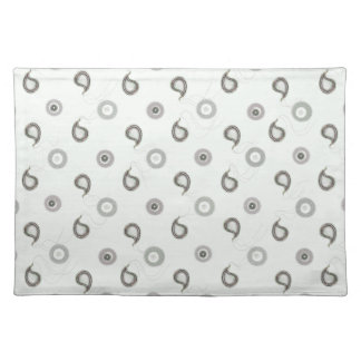 Industrial Paisley Placemat