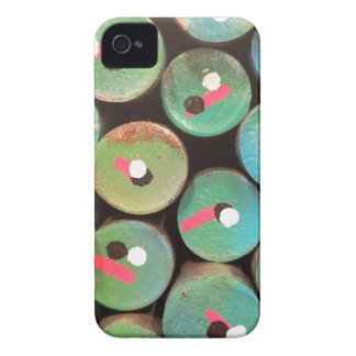 Industrial peacock dull iPhone 4 cover