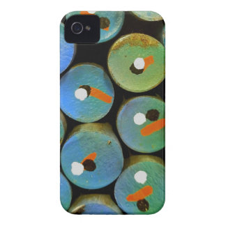 Industrial peacock iPhone 4 cover