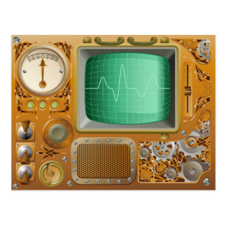 Industrial Steampunk media player Post Card