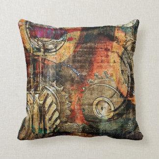 industrial steampunk pillow throw cushion