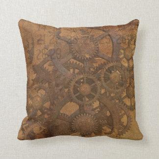 Industrial steampunk theme cushion