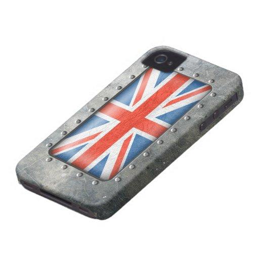 Industrial Union Jack Blackberry Cases