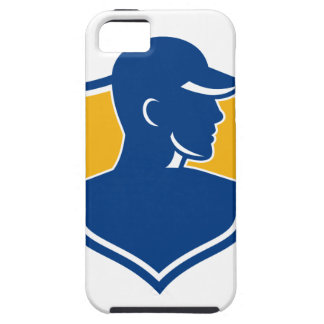 Industrial Worker Crest Icon iPhone 5 Cover