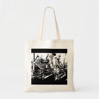 Industrious Robot Tote