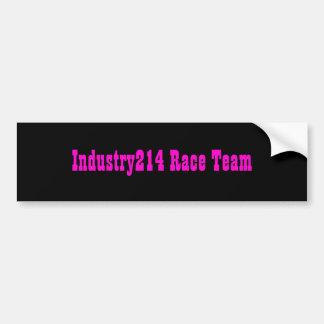 Industry214 Race Team Bumper Sticker