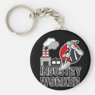 Industry worker key ring